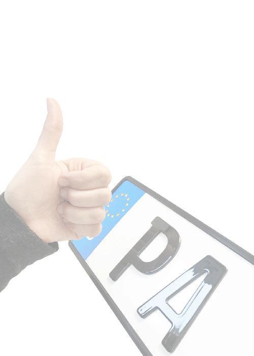 Vorteile 3D-Kennzeichen