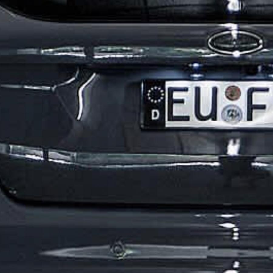 Sind Schwarze Aufkleber Auf Autokennzeichen Erlaubt
